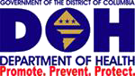 DOH logo: Promote, prevent, protect