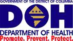 DOH logo: Promote, prevent, protect